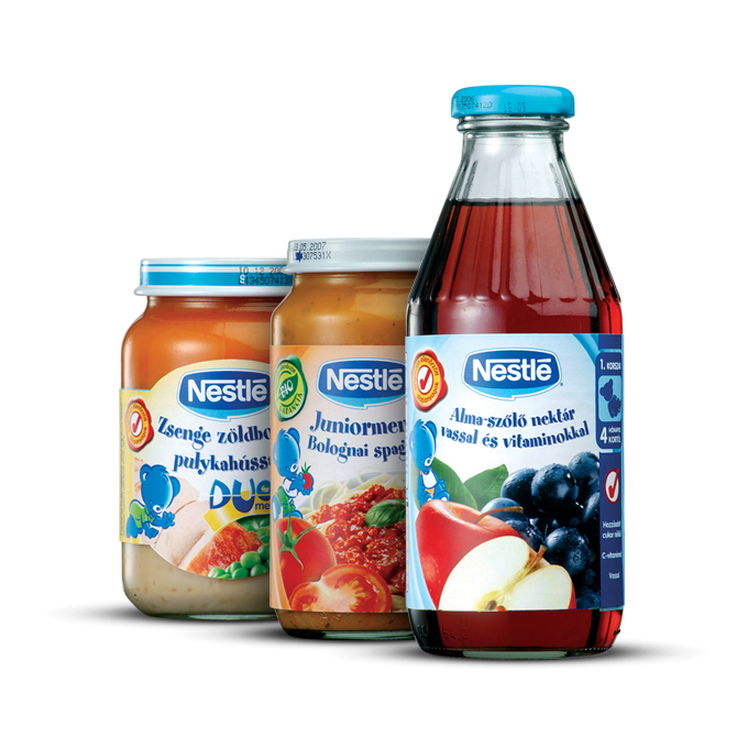 Nestlé Babyfood packages